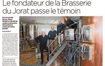 Nouvelle étape pour la Brasserie du Jorat