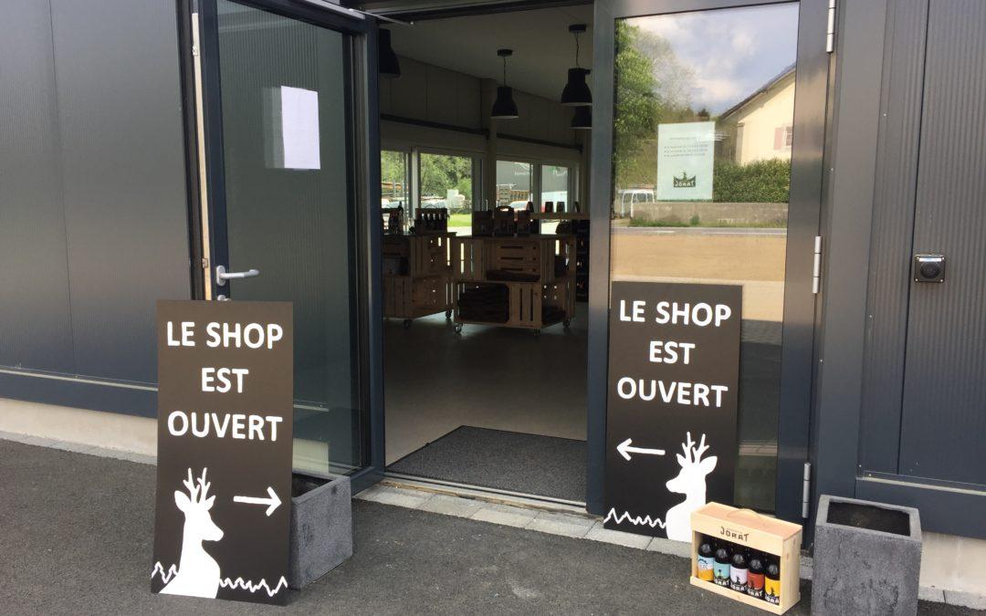 Réouverture de notre shop dès le 29 avril